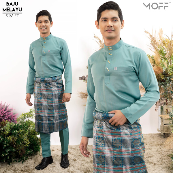 SLIM FIT  PINE GREEN - moff collection