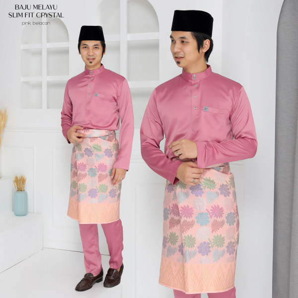 SLIM FIT CRYSTAL DUSTY PINK  - moff collection