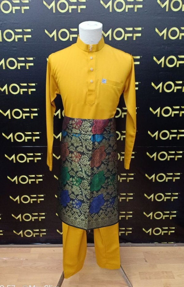 SLIM FIT MUSTARD - moff collection