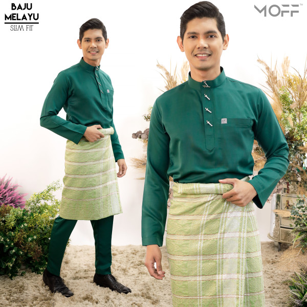 SLIM FIT  EMERALD GREEN - moff collection