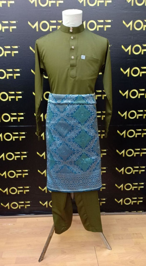 SLIM FIT OLIVE - moff collection