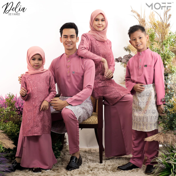 KURUNG DELIA DUSTY PINK - moff collection