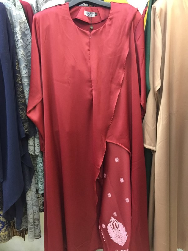 JUBAH SUIT RED - moff collection