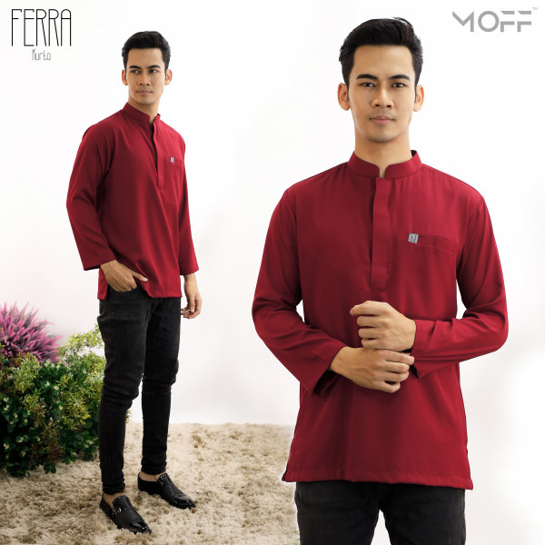 KURTA FERRA MAROON - moff collection
