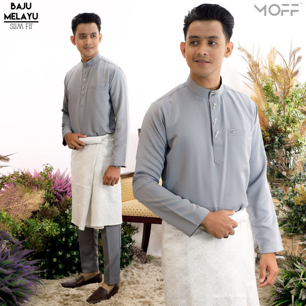 SLIM FIT KELABU - moff collection