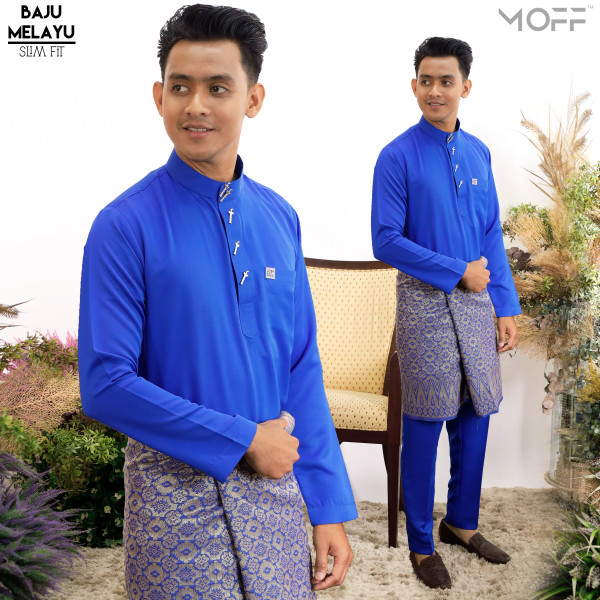 SLIM FIT ROYAL BLUE - moff collection