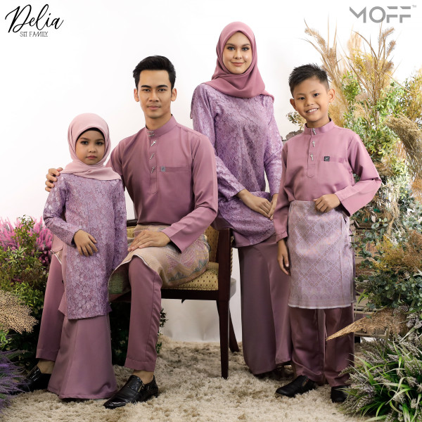 KURUNG DELIA DUSTY PURPLE - moff collection