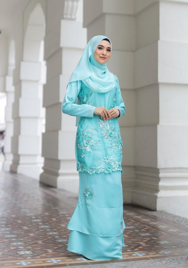 KURUNG AMEERA EXCLUSIVE MINT GREEN - moff collection