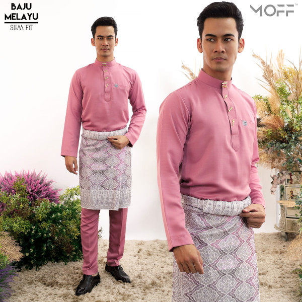 SLIM FIT DUSTY PINK - moff collection