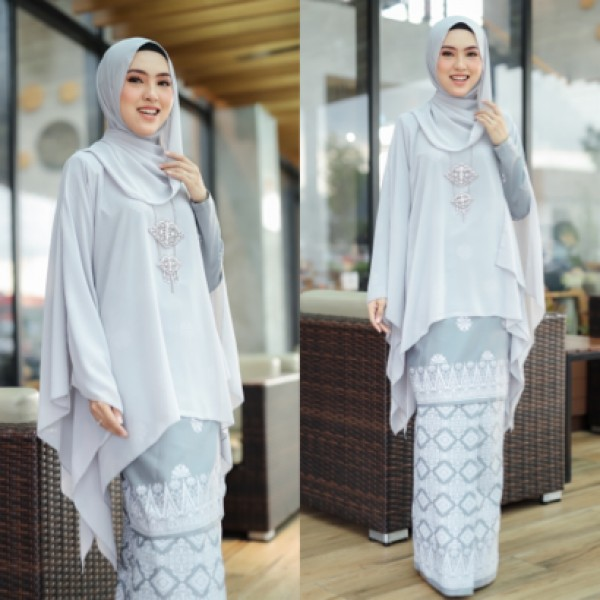 KURUNG QUEEN GREY - moff collection
