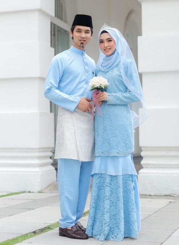 SET COUPLE ZINIRA BABY BLUE - moff collection