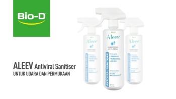 Bio-D Aleev Antiviral Sanitiser 500ml Spray