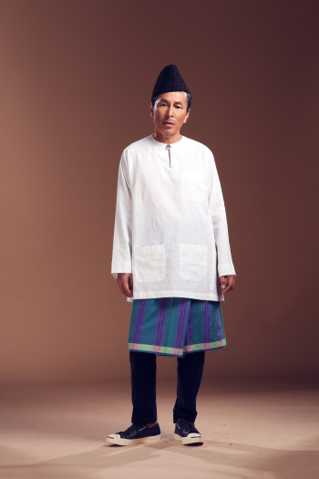 Kurta SlimCut - Persian Blue - AMY SEARCH GENERAL PRODUCTS CO
