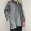 Kurta SlimCut - Charcoal - AMY SEARCH GENERAL PRODUCTS CO