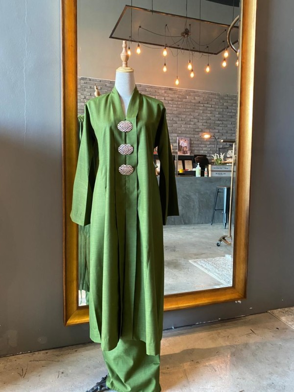 Kebarung - Olive Green - AMY SEARCH GENERAL PRODUCTS CO