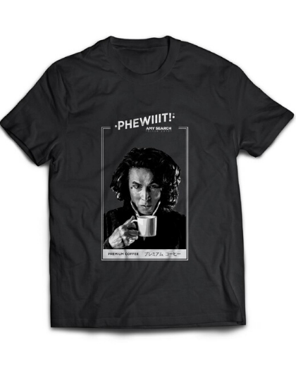 PREMIUM COFFEE T-SHIRT - AMY SEARCH GENERAL PRODUCTS CO