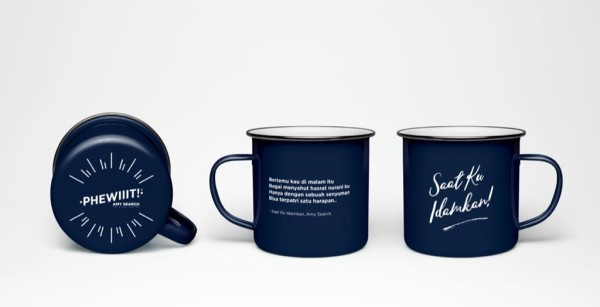 Enemal Mug Navy Blue - AMY SEARCH GENERAL PRODUCTS CO