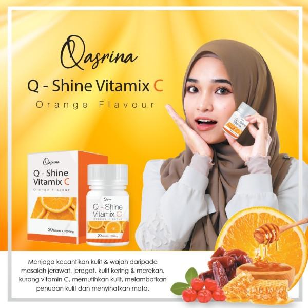 Q - SHINE VITAMIX C BY QASRINA - COVSTORE