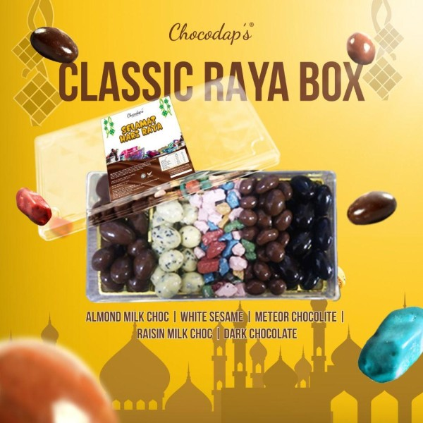 CLASSIC RAYA BOX CHOCODAP'S (PENINSULAR MALAYSIA ONLY) - COVSTORE