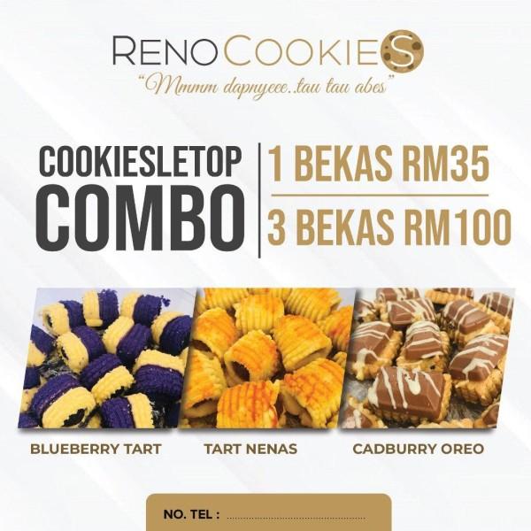 RENOCOOKIES - COOKIESLETUP COMBO (3 BEKAS) - SM (ONLY) - COVSTORE