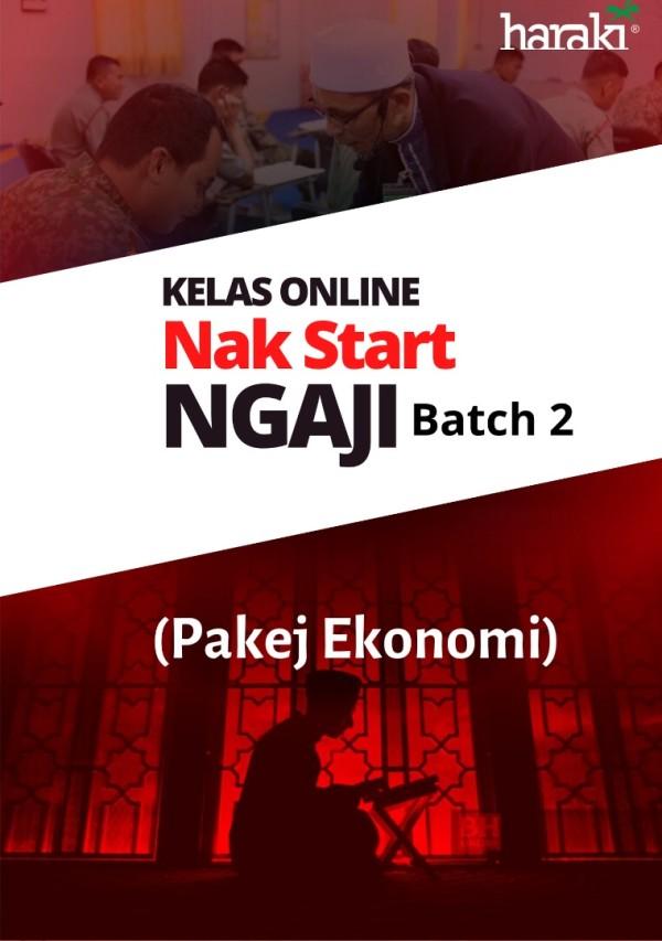 Kelas Online - Nak Start Ngaji (NSN) Batch 2 (Ekonomi) - USRAH HARAKI SDN BHD