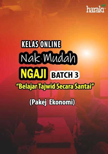 Kelas Online - Nak Mudah Ngaji (NMN) Batch 3 (Ekonomi) - USRAH HARAKI SDN BHD