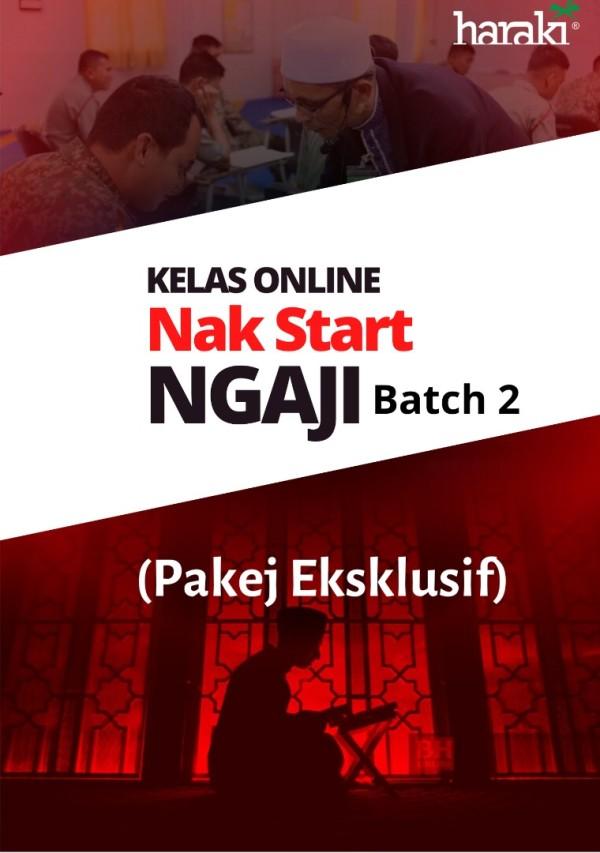 Kelas Online - Nak Start Ngaji (NSN) Batch 2 (Eksklusif) - USRAH HARAKI SDN BHD