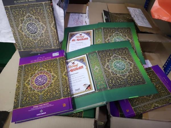 Wakaf Al-Quran Haraki Care (1 naskah) - USRAH HARAKI SDN BHD