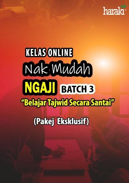 Kelas Online - Nak Mudah Ngaji (NMN) Batch 3 (Eksklusif) - USRAH HARAKI SDN BHD