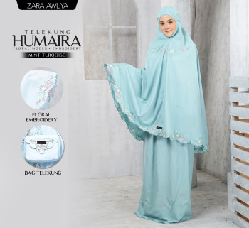 Telekung HUMAIRA - Navy Blue - ZARA AWLIYA