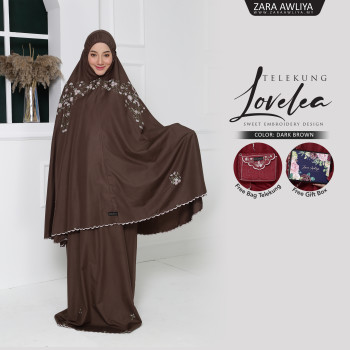 Telekung LOVELEA - Dark Brown