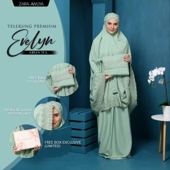 Telekung Premium EVELYN - Light Brown - ZARA AWLIYA