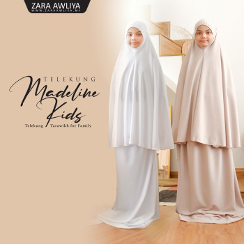 Telekung Madeline Kids - Pre Order 2 Weeks (New Collection 2021)