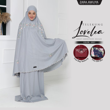 Telekung LOVELEA - Grey