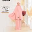Telekung Madeline Kids - Light Pink  - ZARA AWLIYA