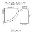 Telekung Camellita - Mauve (Ready Stock) - ZARA AWLIYA