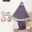 Telekung Camellita 1.0 - Purple Plum (Ready Stock) - ZARA AWLIYA