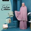 Telekung Premium EVELYN - Dusty Purple - ZARA AWLIYA