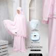 Telekung HUMAIRA - Baby Pink - ZARA AWLIYA