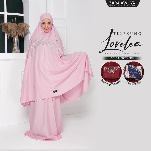 Telekung LOVELEA - Dusty Pink - ZARA AWLIYA