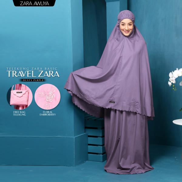 TELEKUNG TRAVEL ZARA - Dusty Purple - ZARA AWLIYA