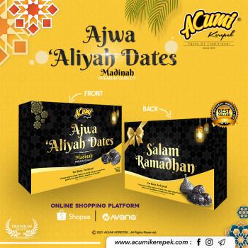 Kurma Ajwa 'Aliyah ( Madinah Premium Quality )