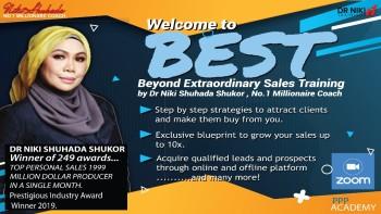 Beyond Extraordinary Sales Training