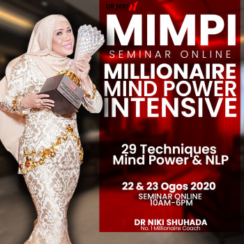 MILLIONAIRE MINDPOWER INTENSIVE SEMINAR