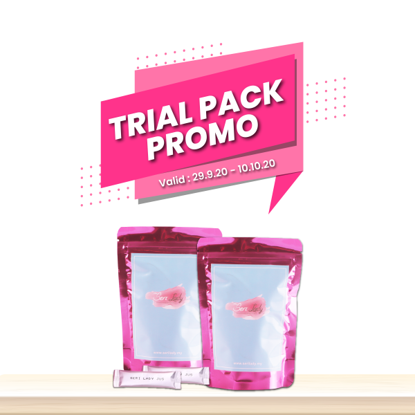 (FREE POSTAGE) 2 Box Combo Jus Seri Lady Trial Pack x20 sachet - Seri Lady Official HQ