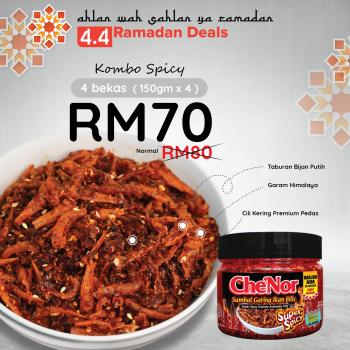 [PROMO 4.4] Kombo Spicy
