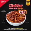 Che'Nor Sambal Ikan Bilis SUPER SPICY (150gm) x 1pc - Sambal Garing Che'Nor Official