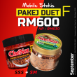 [ MOBILE STOCKIST ] - PAKEJ DUET F : SSS + SM - Sambal Garing Che'Nor Official