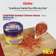 [ PROMOSI ] CHE'NOR Sambal Cheese Korea (150gm + FREE 60gm) - Sambal Garing Che'Nor Official