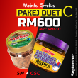 [ MOBILE STOCKIST ] - PAKEJ DUET C : SM + CSC - Sambal Garing Che'Nor Official